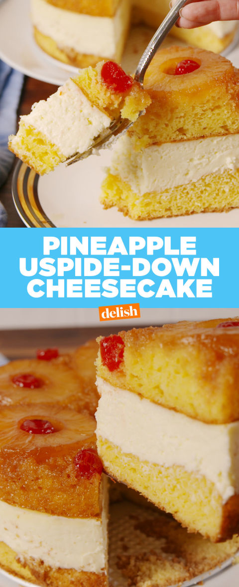 Best Pineapple Upside Down Cheesecake Recipe How To Make