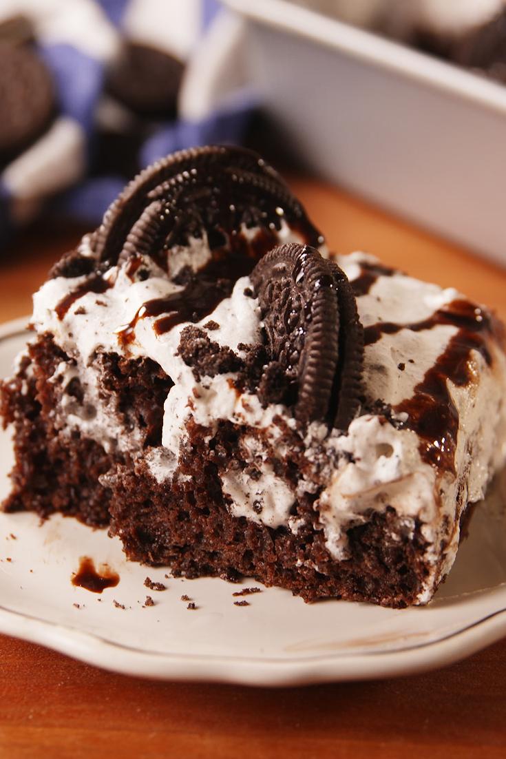 20 Poke Cake Recipes How To Make A Poke Cake Delish Com