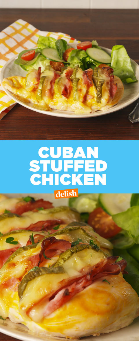 Best Cuban Stuffed Chicken Recipe How To Make Cuban Stuffed Chicken