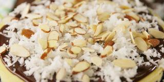 Triple-Layer Almond Shortbread Brownies