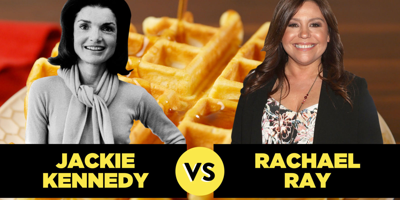 Rachael Ray Vs Jackie Kennedy Whose Waffles Are Better