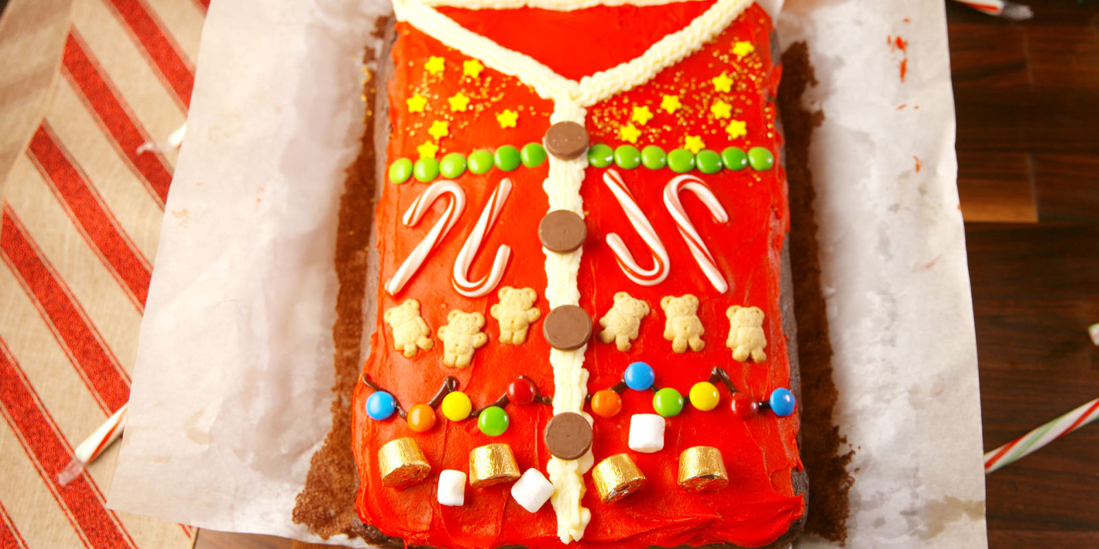 Best Ugly Sweater Cake Recipe How To Make Ugly Sweater Cake