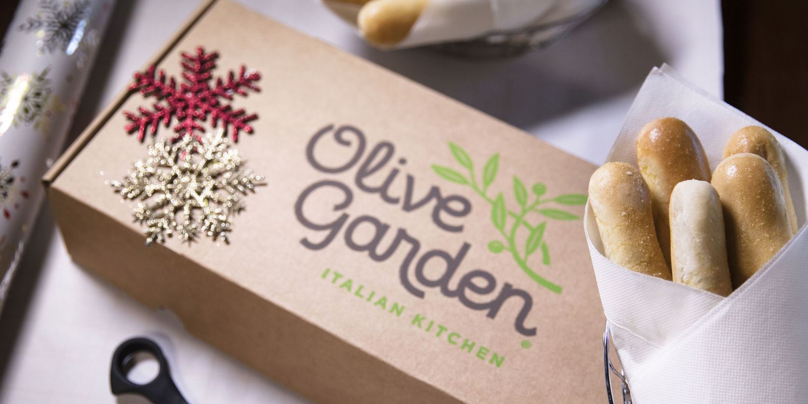 Menu For Olive Garden: Olive Garden Wants You To Give The Gift Of Breadsticks
