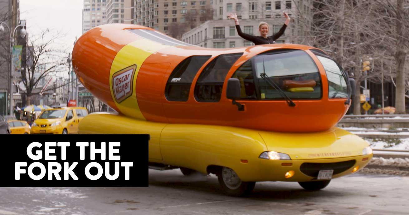 22 photos: Wienermobile stops at HyVee in Ankeny