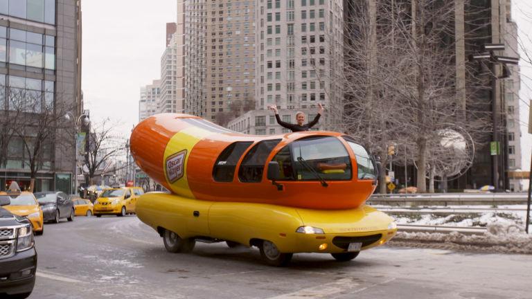 "My life in CMYK: Riding ""shotbun"" in the Wienermobile"