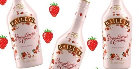 Image result for strawberries and cream baileys