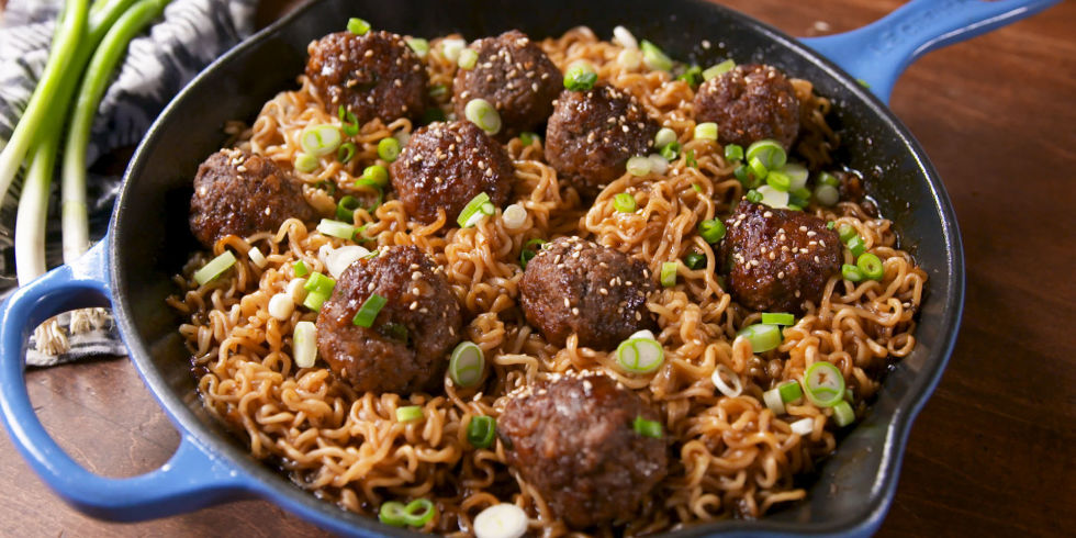 70 authentic chinese food recipes how to make chinese food mongolian meatball ramen forumfinder Gallery