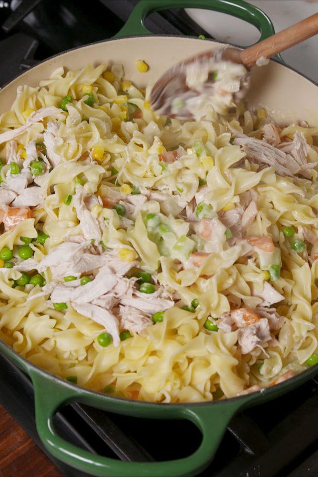 Recetas de pollo y pasta