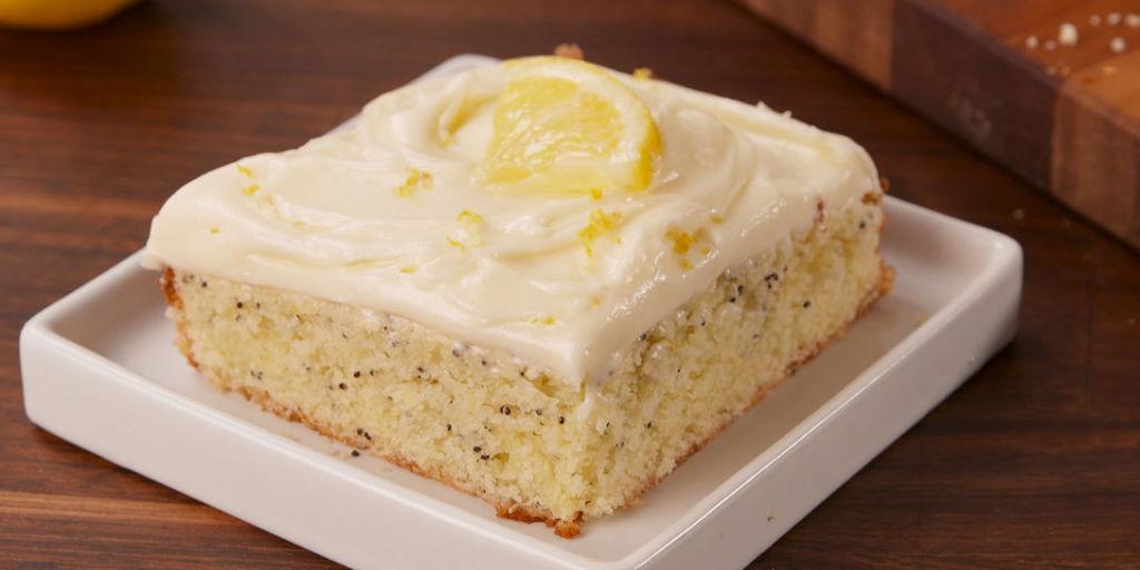 Best Cake Recipes Lemon: Best Lemon Poppyseed Cake Recipe