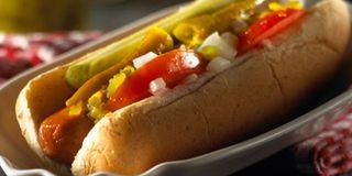 Pickle Hotdog Bundt Cake