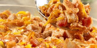 E Z Chicken Tortilla Bake Skillet Enchilada Bake