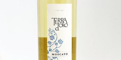 Supersweet Japanese peach candy with a fizzy, clean finish. Buy it: 2012 Terra d'Oro Moscato ($16)