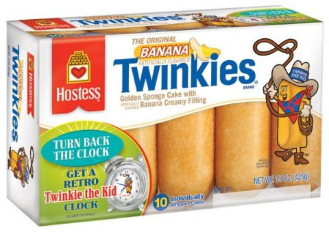Retro Twinkies packaging