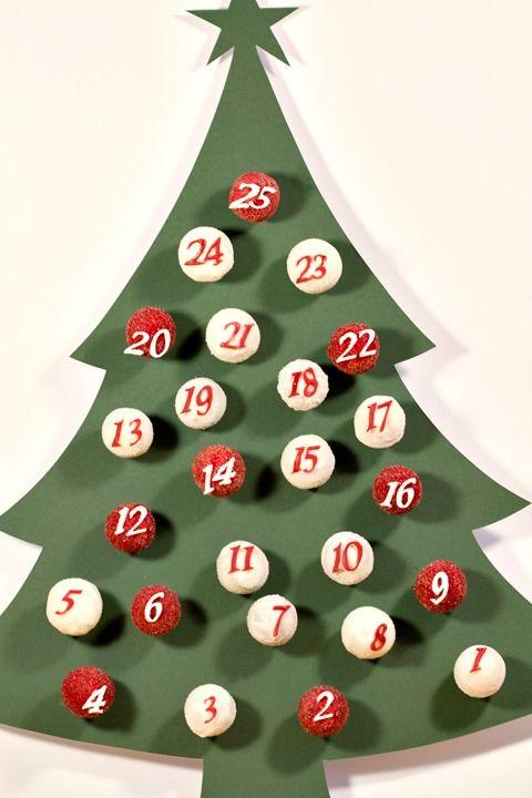 Edible Advent Calendars Christmas Advent Calendars For