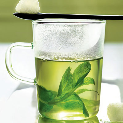 ... mint alone or in combination with lemon verbena.Recipe: Mint Tisane