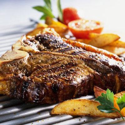 Steak burner
