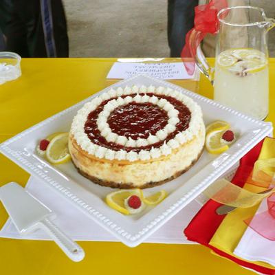 Lemon cheesecake wisconsin cheese festival recipe contest jayne vosters winning cheesecake recipe forumfinder Gallery