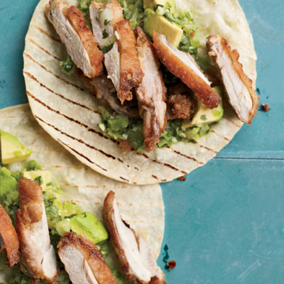 Fried Chicken Tacos Recipe