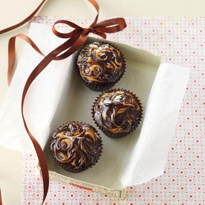 Chocolate caramel marble mud cake recipe