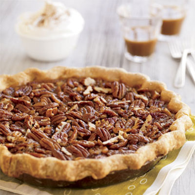 A quicker, simpler version of the classic crunchy, caramely-sweet pie. End your dinner with this nut-covered old-time favorite.Recipe: Southern Pecan Pie