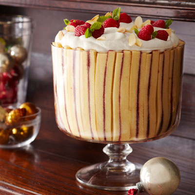 Sure To Please Every Palate This Creamy Dessert Contains Layers Homemade Custard Fruit