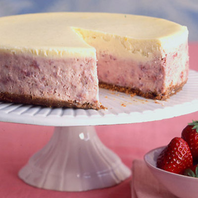 Strawberries And Cream Cheesecake Recipe