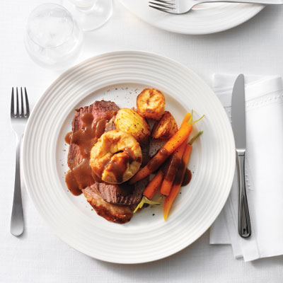 English recipes for queens diamond jubilee english dishes roast beef with yorkshire puddings is the most traditional british meal but it is every forumfinder Images