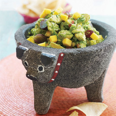 11 vegetarian mexican recipes meatless mexican food for a twist on traditional guacamole add fresh fruit such as diced mango and sliced grapes forumfinder Images