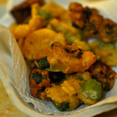 Healthy soul food recipes low fat soul food for a taste of the carolina low country try this savory side of fried okra forumfinder Image collections