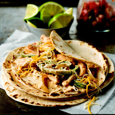 These Quick Chicken Fajitas Will Please The Whole Family Any Night Of The Week Recipe
