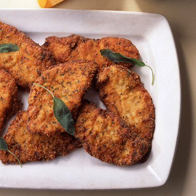 Breaded chicken cutlets with sage recipe breaded chicken cutlets with sage forumfinder Choice Image