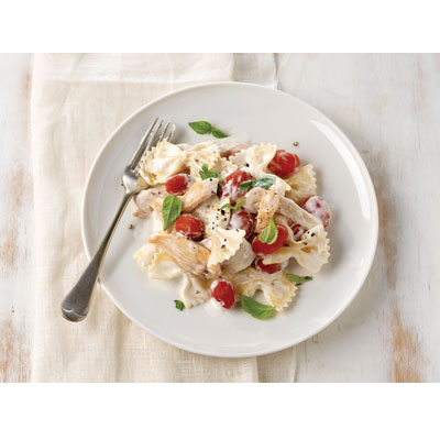 Recipe for bruschetta chicken pasta