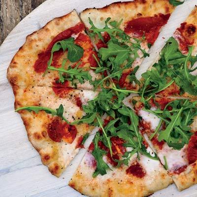 Sun-Dried Tomato and Arugula Pizza Recipe