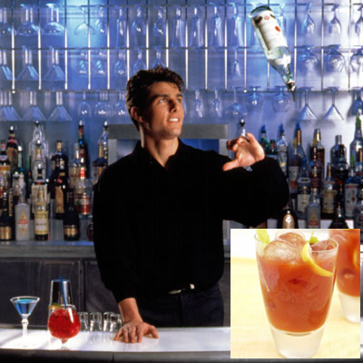12 Famous Drinks Ordered in Movies. There are hundreds of drinks that popular movie characters have ordered over the years in film history, but we came up with a list of 12 great cocktails — and their recipes — that famous characters have ordered and have since gained a pretty strong following.