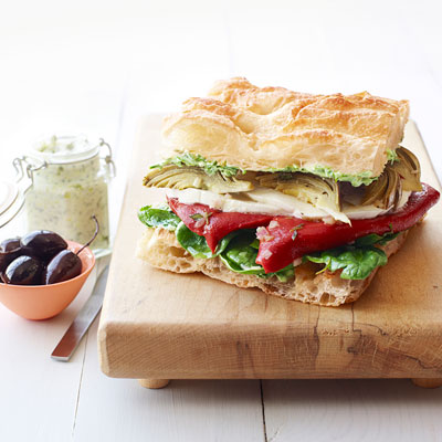 Easy vegetarian sandwiches recipes