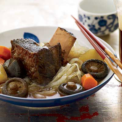 Korean food easy korean food recipes these tender short ribs are served in an intense broth made sweet with mirin and brown forumfinder Image collections