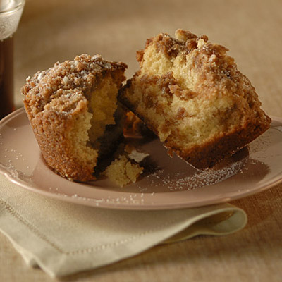 Ideal for workplace coffee breaks, these oversized coffee cake muffins ...