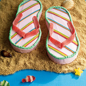 how to make a flip flop cake dailymotion