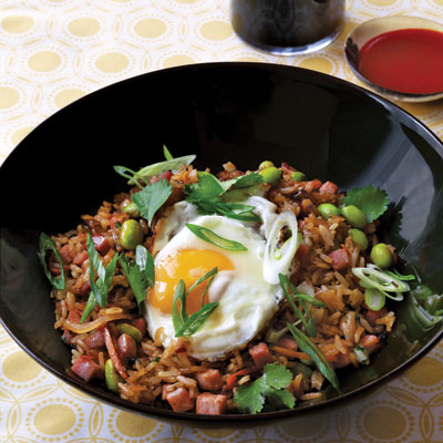 Fried Rice with Sunny-Side Up Egg Recipe