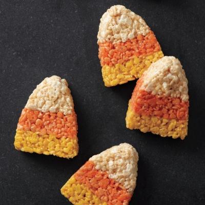 Crisp Candy-Corn Treats