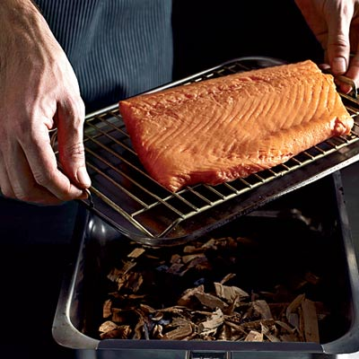 Smoked and cured salmon with orange zest recipe for Cold smoking fish