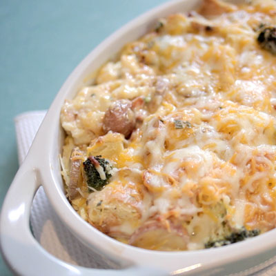 Strata Recipes bacon and potato breakfast strata recipe