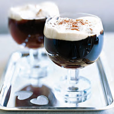 Irish Coffee Is A Perfect Way To End The Evening This One Made From