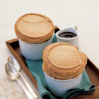 Our delectable sweetheart special can be prepared in just 30 minutes. Recipe: Cappuccino Soufflé for Two