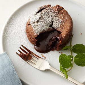 cakes with quick brandied cherries molten chocolate cup cakes molten ...