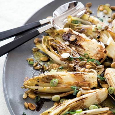 vegetarian side dish, the notoriously bitter flavor of these braised ...