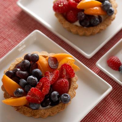 Fruit Tart with Almond Pie Crust Recipe