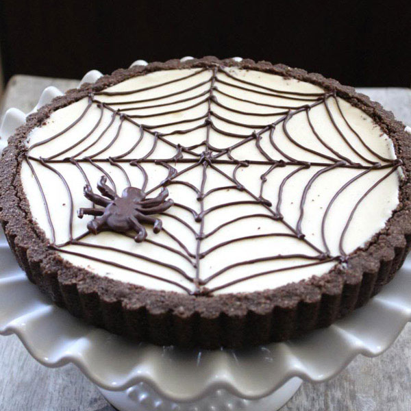 13 halloween cheesecakes best recipes with cheesecake for halloween delishcom - Simple Halloween Cake Decorating Ideas