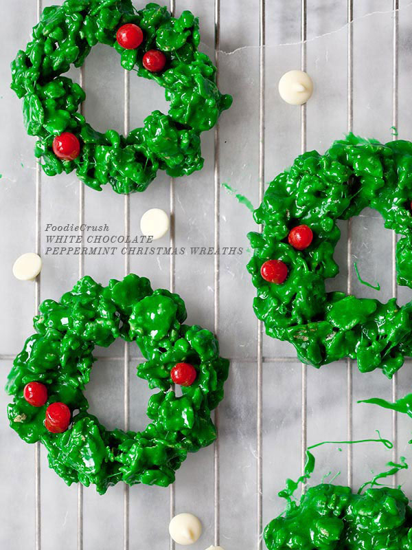 11 Christmas Wreath Cookies  Dessert Recipes
