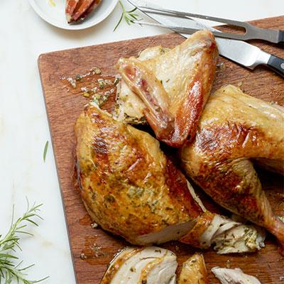 Herb and Lemon Stuffed Turkey